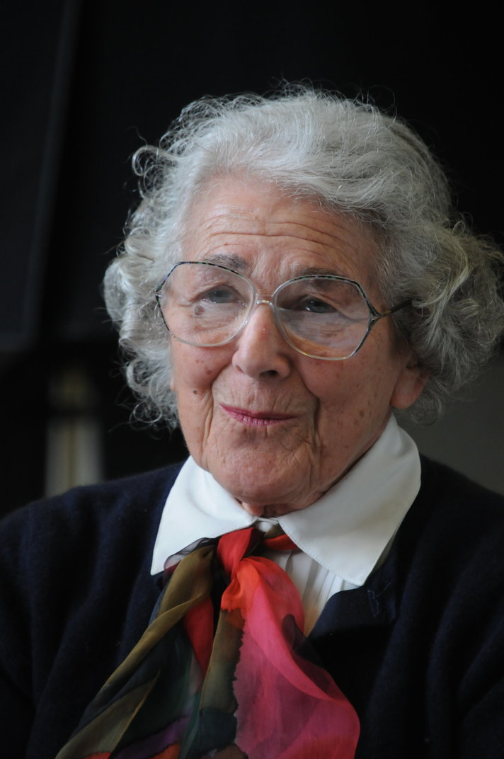 """Judith Kerr"" https://flic.kr/p/dHwbXo by Federation of Children's Book Groups https://www.flickr.com/photos/fcbg/ licensed under CC BY-NC-SA 2.0"